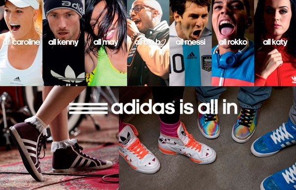 imagem campanha adidas is all in