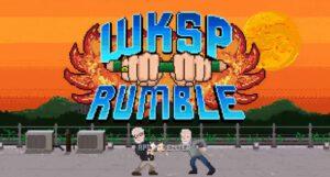 jogo, 8bit, logo, W+K Rumble