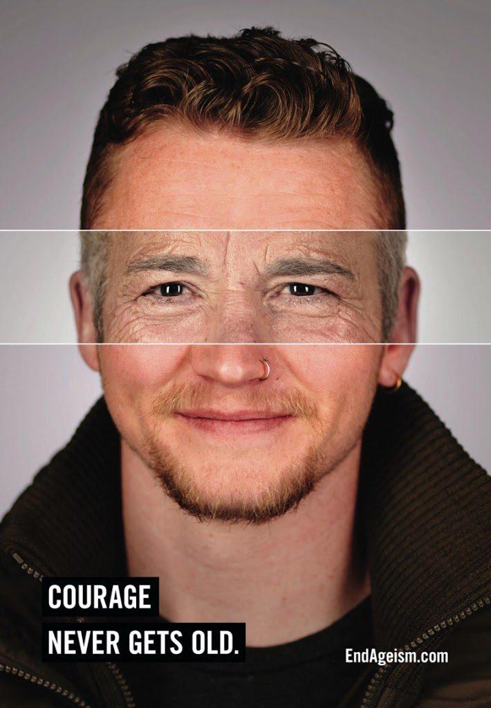 campanha End Ageism homem