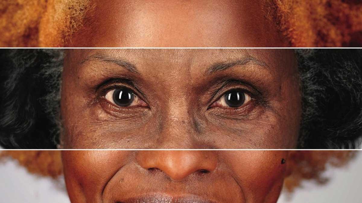 campanha End Ageism mulher idosa