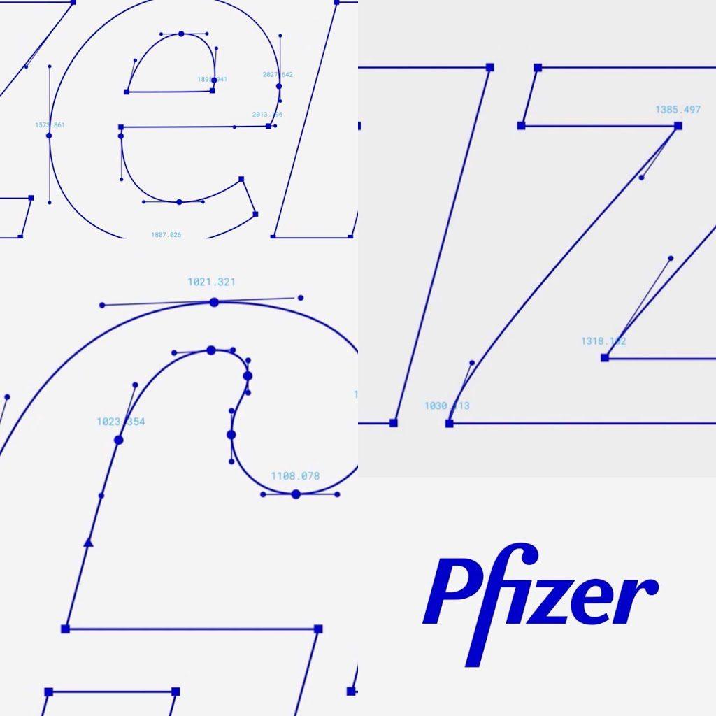 Rebranding pfizer logo