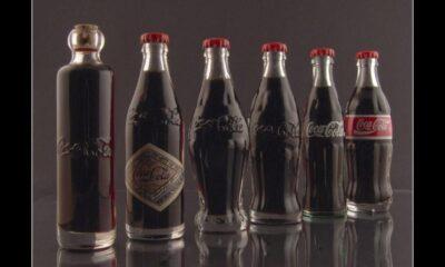 Evolução garrafa de Coca-Cola