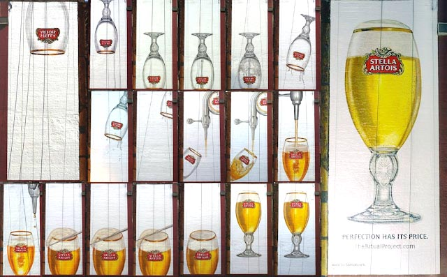 copo, cerveja, stella artois, outdoor