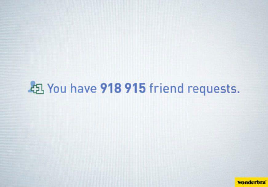 facebook wonderbra comercial ad