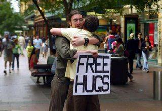 abraço campanha freehugs