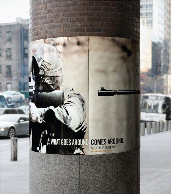 Anúncio global coalition for peace
