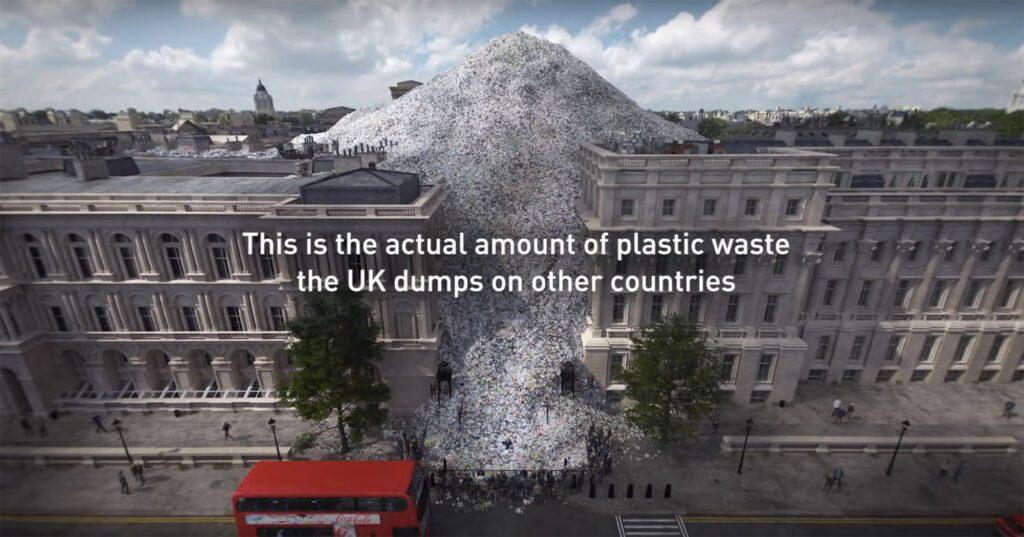 Wasteminster, campanha da Greenpeace UK