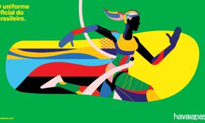 ilustração Comitês Olímpico e Paralímpico da Havaianas