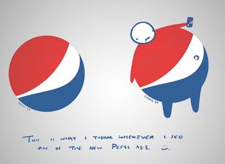 Pior logo da história - Pepsi