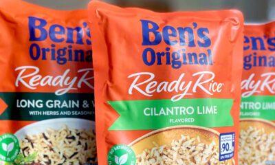 novo redesign das embalagens marca Uncle Ben's para Ben's Original