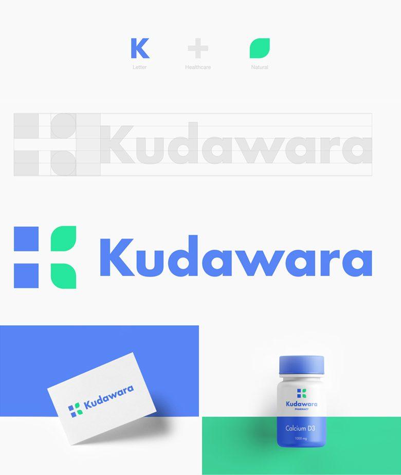 Redesign da logo Kudawara Pharmacy