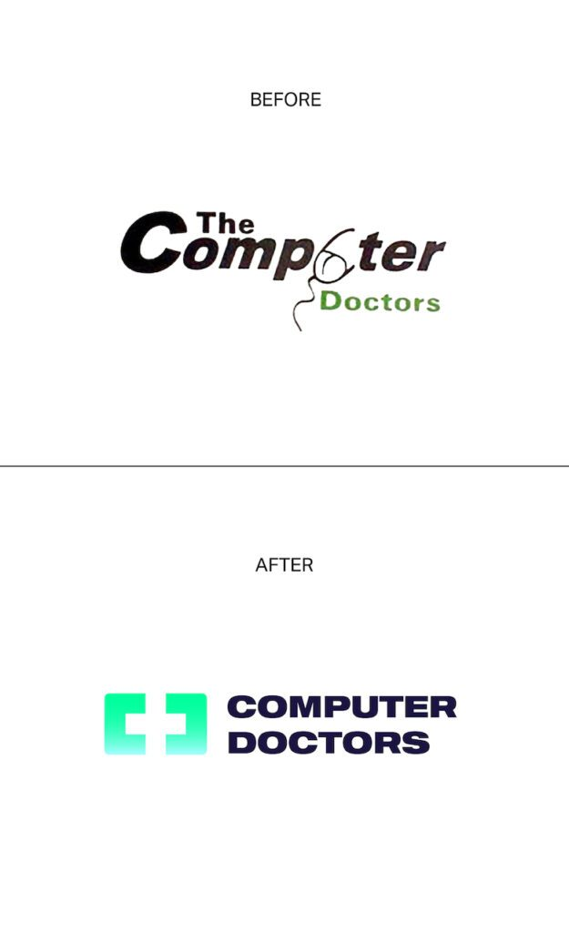 Redesign da logo The Computer Doctors
