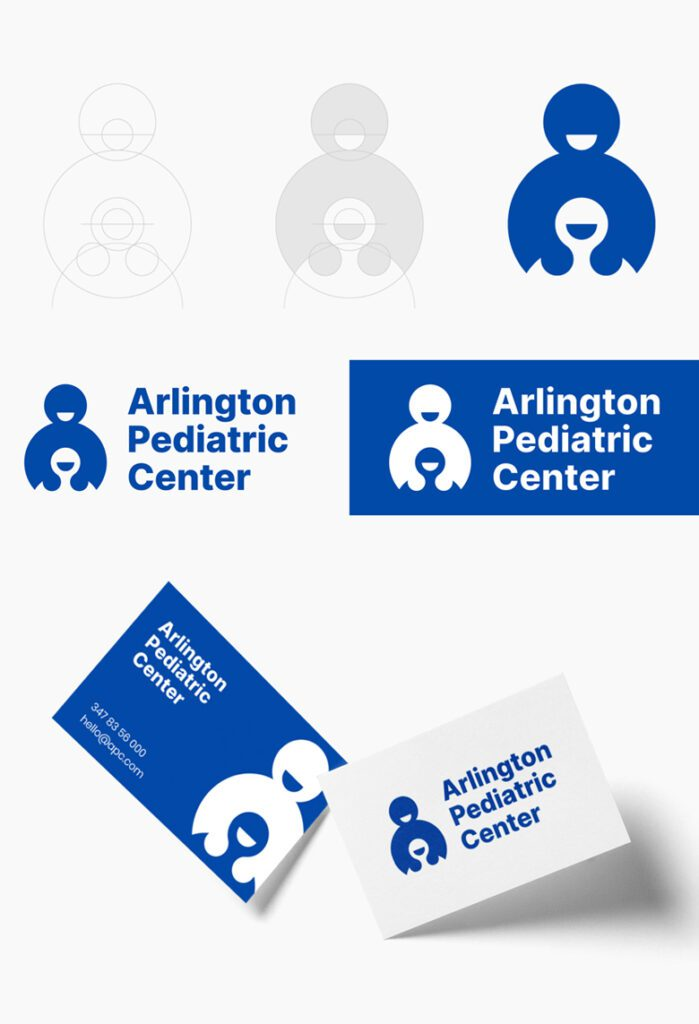 Redesign da logo Arlington Pediatric Center
