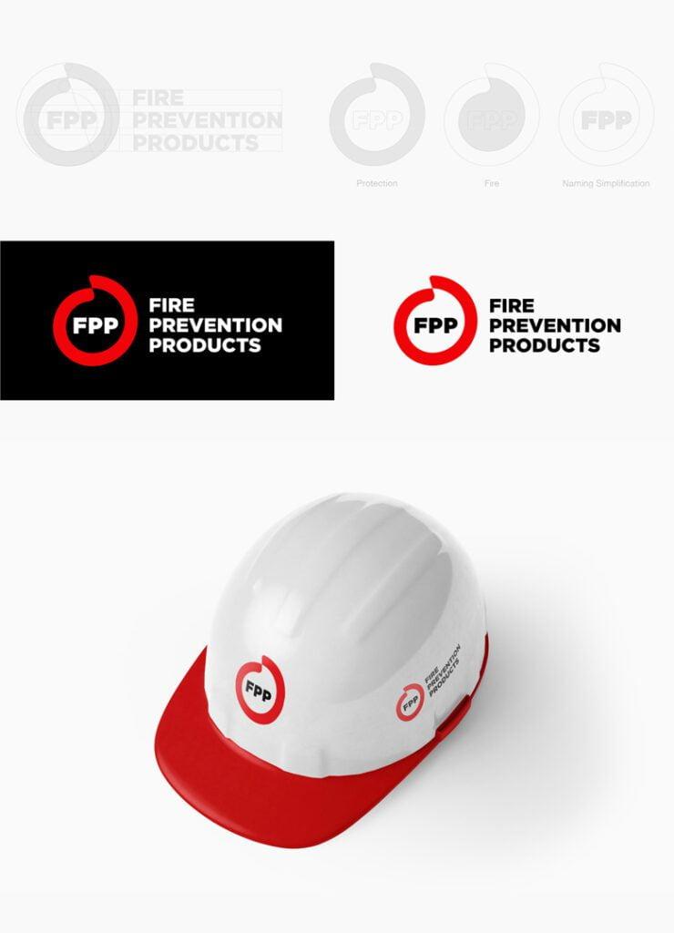 Redesign da logo Fire Prevention Products