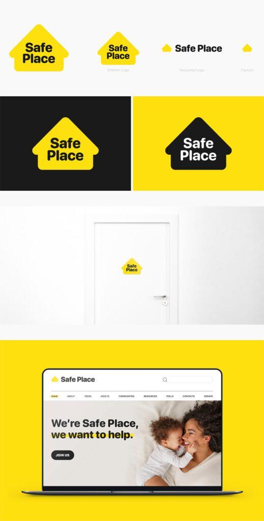Redesign da logo Safe Place