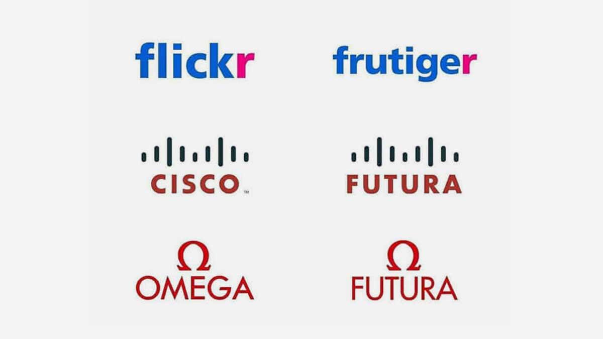 Fontes, logo, flickr, cisco, omega