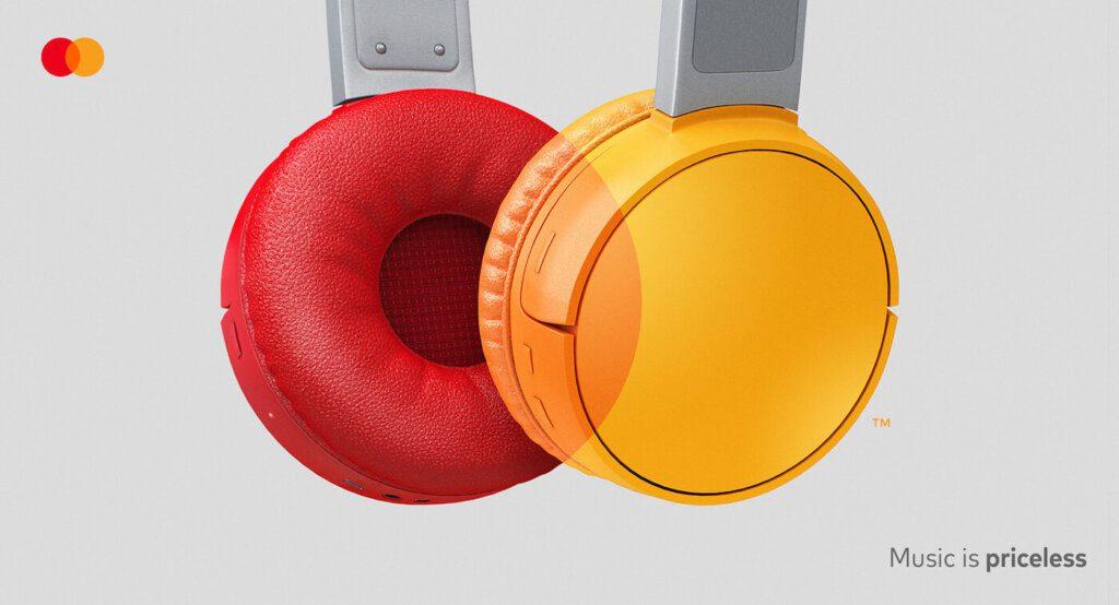 experiencia mastercard headphone