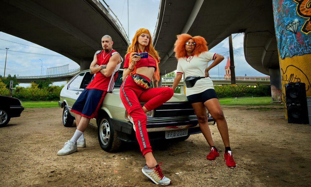 imagem da campanha de lançamento Free Fire no Brasil